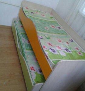Кровать раздвижная торг есть или обмен на двухярус