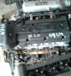 Двигатель 1.8л G4GM хендай лантра, тибурон