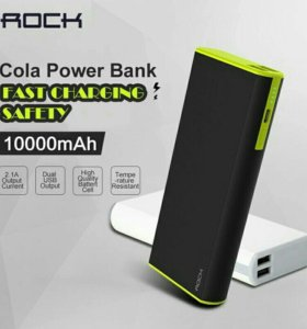 Внешний аккумулятор Rock Power Bank Cola 10000 mAh