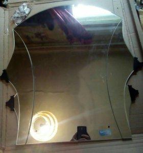Зеркало с полочкой новое