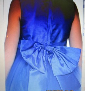 Нарядное платье, 110+6