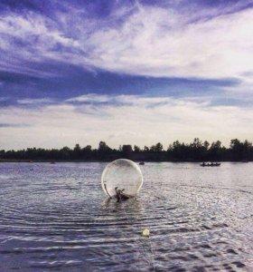 Шары на воде(Зорбинг)