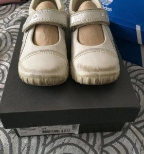 Туфли детские 24 размер