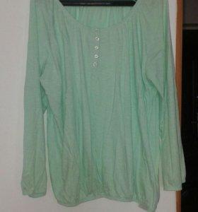 Блузка трикотаж большая