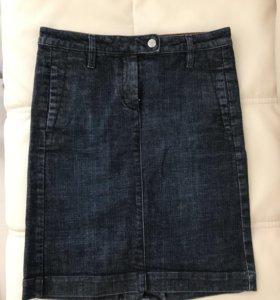 Джинсовая юбка Gant