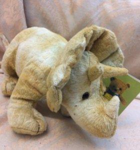 динозавр новая мягкая игрушка