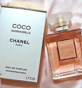 Новые Coco Chanel Mademoiselle 100ml