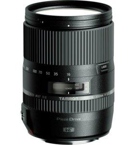 Фотообъектив 16 - 300мм для ,, Canon,,