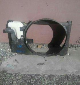 Кожух вентилятора на радиатор от маркообразных