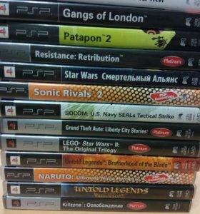 Игры на PSP продаю срочно