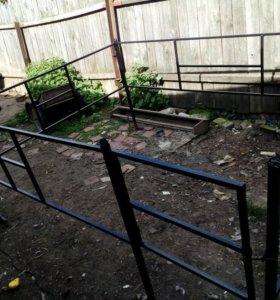 Ограда на могилу кресты столик лавки