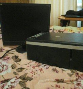Монитор и принтер