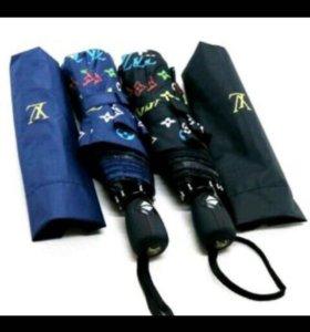 Зонт lv чёрный