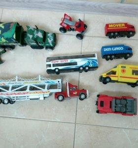 Машинки от 100-250р