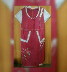 Платье стильное размер 52