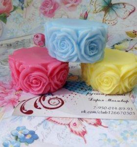 Мыло Круг роз