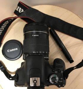 Фотоаппарат Canon 600D 18-135