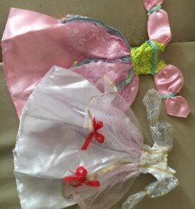 Платья для кукол(1 шт)