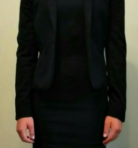 Комплект платье с пиджаком