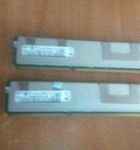 (Сервер)операционная память 4гиг*2плашки