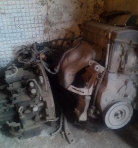 Двигатель и Коробка
