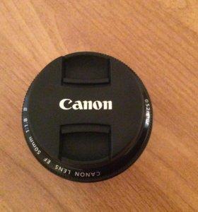 Canon 50mm. f/1,8ll