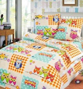 Детское постельное бельё, 1,5 спальное