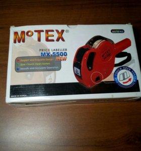 Этикет- пистолет долгосрочный MOTEX MX-5500 НОВЫЙ