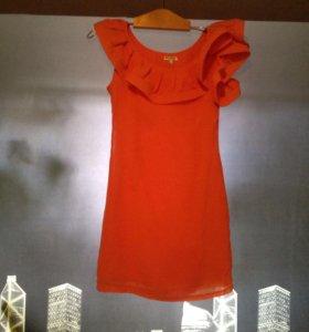 Платье шифон S