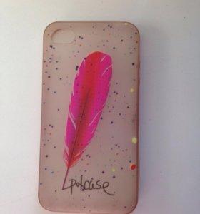 Светящийся чехол на iPhone 4/4s