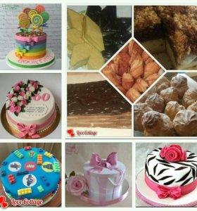 Домашние выпечки и торты