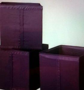 Родвесные системы хранения из Икея и коробки
