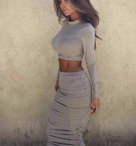 Комплект юбка + кофточка