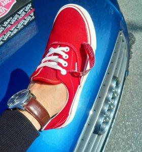 Кеды Vans Red 👍💣🆕