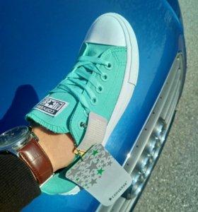 Converse All Star 2 мятного цвета