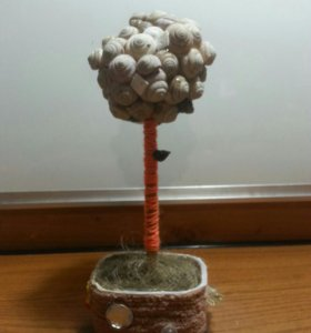 Дерево из ракушек