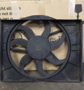 Вентилятор охлаждения на мерседес