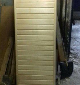 Дверь банная из липы от производителя