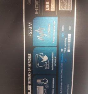 Ноутбук asus f553m 2gb/500gb hdd