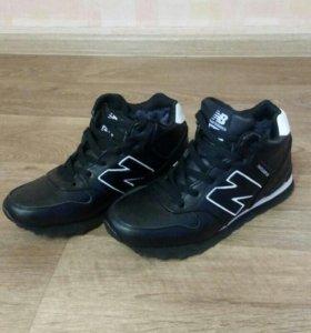 Новые кроссовки зимние мужские