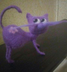 Кошки валяние