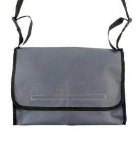 Сумка для коляски, р-р 35*24*10 см, цвет серый