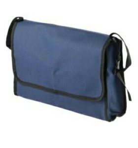 Сумка для коляски, р-р 35*24*10 см, цвет синий