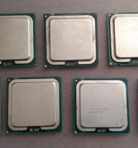 Процессоры Intel 775 сокет 2 ядра