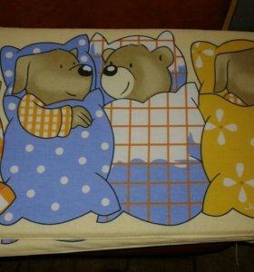 Бортики в детскую кроватку(новые)