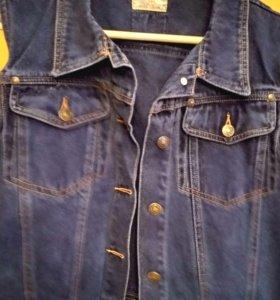 Безрукавка джинсовая kubics