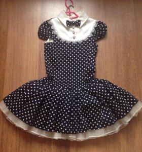 платье нарядное 104-110