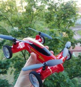 Квадрокоптер машинка новая