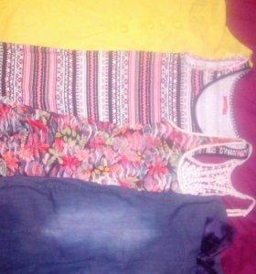 Разгружаю гардероб