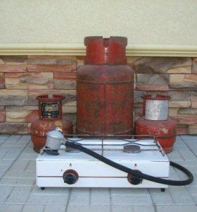 Плита настольная газовая